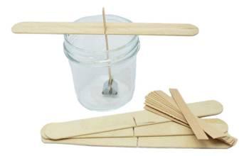 10x Knot drewniany do wosku stablizator gratis 8cm