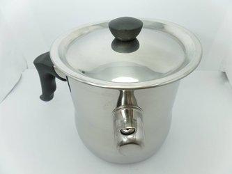 Garnek do topienia wosku 1L + wosk sojowy 1kg