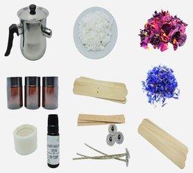 Zestaw do robienia świec kwiatowych wosk gratis