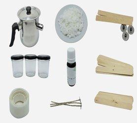 Zestaw do tworzenia świec sojowych wosk gratis