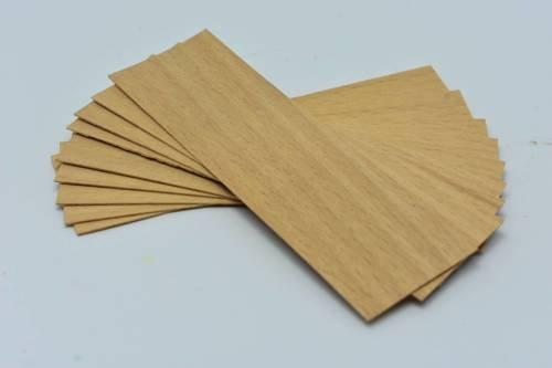 Knot drewniany do wosku 10 szt dłu. 10cm szer. 3cm