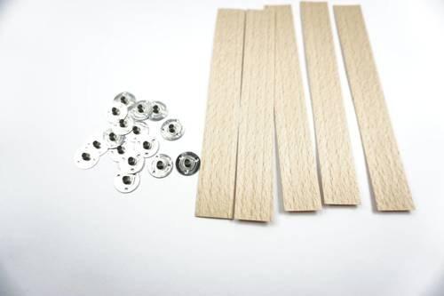 Knot drewniany do wosku stopki gratis 20 szt 15 cm