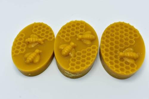 MIX Mydełka z wosku pszczelego 1 szt 60g naturalny