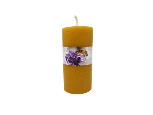Świeca mała z wosku pszczelego