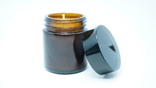 Świeca w słoiku z wosku sojowego czysta 60 ml