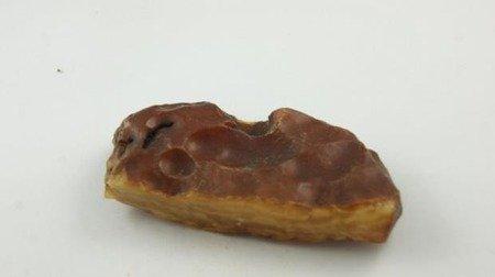 bursztyn bałtycki prostokąty surowy płaski koniak 45,6 g