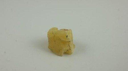 bursztyn bałtycki żółty surowy niemodyfikowany